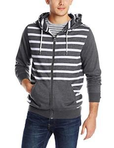 Rusty Men's Overcast 7th Sweater, Black Marle, Small