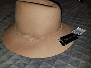 Manhattan Hat Company Wool Panama Hat with Twist Band