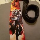 Star Wars Darth Vader's Fury Neck Tie, Red, One Size