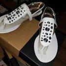 LifeStride Women's Envy Flat Sandal, White