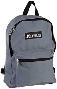 Everest Luggage Basic Backpack - Dark Gray