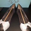 LifeStride Women's Nero Metallic Ballet Flat  Size 5.5