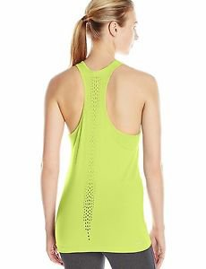 Champion Women's Vapor Seamless Mesh Tank Sweet Green Size Large NWT