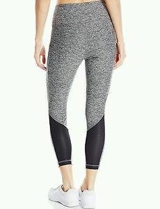 GG Blue Ladies Naomi Leggings Charcoal w/ Black XL Women's Capri Athletic