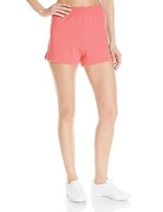 Soffe Women's Jrs Jer Short V-N, Strawberry Pink, Medium