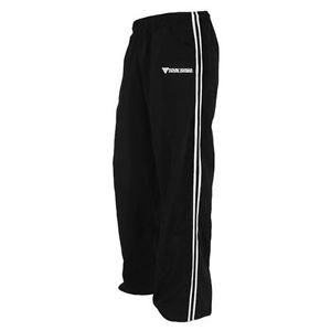 Krav Maga Nylon Pants (Black/White, Large) New