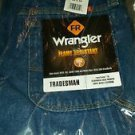 Wrangler Men's Flame Resistant Denim Dungaree, Denim, 29x34