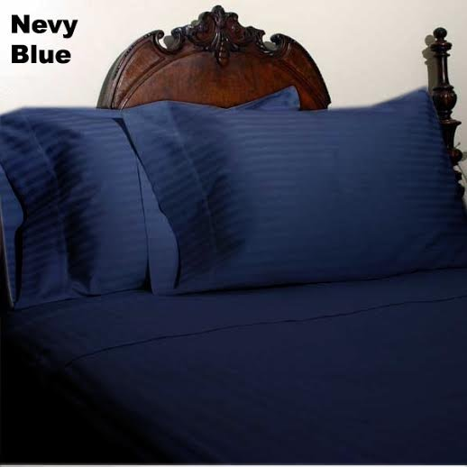 1000 TC EGYPTIAN COTTON  QUEEN SIZE BED SHEET SET