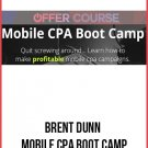 Mobile CPA Bootcamp Full Video Training