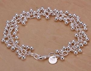 NEW! 925 Sterling Silver Fashion Jewelry Bracelet.