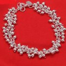 925 Sterling Silver Fashion Jewelry Bracelet.