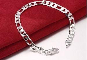 NEW!  925 Sterling Silver Fashion Jewelry Chain bracelet .