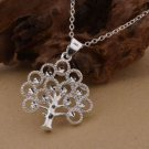 NEW ! 925 Sterling Silver Fashion Jewelry Tree of Life Pendant & Necklace.