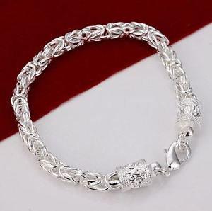 925 Sterling Silver Jewelry Fashion  Bangle Bracelet .