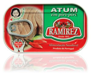 120 Grs 1 Can of Tuna in oil with piri-piri by 160 Years Old Portuguese firm Ramirez