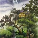 """Chinese style Hand painted oil painting on canvas""""Natural color""""60x120CM(23.6""""x47.2"""")Unframed-13"""