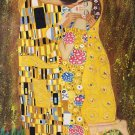 """Simple modern Hand painted oil painting on canvas""""Valentine's love""""60x90CM(23.6""""x35.4"""")Unframed"""