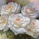 "American style Hand painted oil painting on canvas""Lover roses""60x90CM(23.6""x35.4"")Unframed-05"
