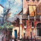 "European style Hand painted oil painting on canvas""Venice""60x90CM(23.6""x35.4"")Unframed-10"