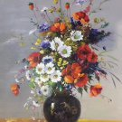 """Simple modern Hand painted oil painting on canvas""""Flowers""""60x80CM(23.6""""x31.5"""")Unframed-08"""