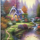 """European style Hand-painted oil painting on canvas""""mind home""""50x60CM(19.7""""x23.6"""")Unframed-01"""