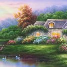 """European style Hand-painted oil painting on canvas""""mind home""""70x180CM(27.6""""x70.9"""")Unframed-01"""