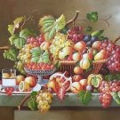 "Simple modern Hand painted oil painting on canvas""harvest fruits""60x90CM(23.6""x35.4"")Unframed-33"