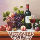 "handpainted oil painting on canvas Art Decor""Grape wine""50x60CM(19.7""x23.6"")Unframed-38"