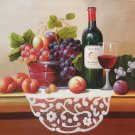 "handpainted oil painting on canvas Art Decor""Grape wine""50x60CM(19.7""x23.6"")Unframed-43"