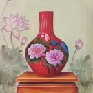 "Simple modern Hand painted oil painting on canvas""ceramics""60x90CM(23.6""x35.4"")Unframed-16"
