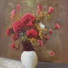 """Simple modern Hand painted oil painting on canvas""""Potted flowers""""50x60CM(19.7""""x23.6"""")Unframed-01"""