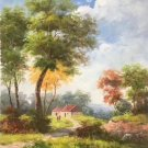 """Hand painted oil painting on canvas""""Image of the countryside""""60x90CM(23.6""""x35.4"""")Unframed-20"""