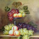 "Hand painted oil painting on canvas""bumper harvest fruits""50x60CM(19.7""x23.6"")Unframed-13"