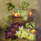 "Hand painted oil painting on canvas""bumper harvest fruits""50x60CM(19.7""x23.6"")Unframed-15"