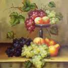 "Hand painted oil painting on canvas""bumper harvest fruits""50x60CM(19.7""x23.6"")Unframed-17"