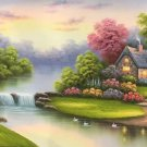 "European style Hand-painted oil painting on canvas""mind home""70x180CM(27.6""x70.9"")Unframed-20"