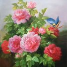 """Simple modern Hand painted oil painting on canvas""""Flowers""""60x90CM(23.6""""x35.4"""")Unframed-21"""
