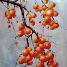 """Hand painted oil painting on canvas""""persimmon""""60x90CM(23.6""""x35.4"""")Unframed-13"""