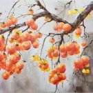 """Hand painted oil painting on canvas""""persimmon""""60x120CM(23.6""""x47.2"""")Unframed-17"""
