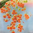 "Hand painted oil painting on canvas""persimmon""60x90CM(23.6""x35.4"")Unframed-26"