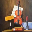 """Simple modern Hand painted oil painting on canvas""""violin""""60x90CM(23.6""""x35.4"""")Unframed-07"""