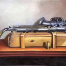 """Simple modern Hand painted oil painting on canvas""""Saxophone""""60x90CM(23.6""""x35.4"""")Unframed-04"""