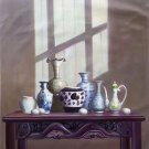 "Chinese style Hand painted oil painting on canvas""ceramics""75x100CM(29.5""x39.4"")Unframed-19"