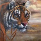 """Simple modern Hand painted oil painting on canvas""""tiger""""60x90CM(23.6""""x35.4"""")Unframed-01"""