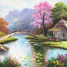 """European style Hand-painted oil painting on canvas""""mind home""""70x180CM(27.6""""x70.9"""")Unframed-23"""