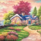 """European style Hand-painted oil painting on canvas""""mind home""""70x180CM(27.6""""x70.9"""")Unframed-24"""