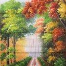 "Simple modern Hand painted oil painting on canvas""Milu Deer""60x120CM(23.6""x47.2"")Unframed-10"