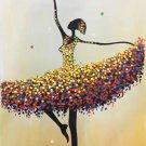 "Simple modern Hand painted oil painting on canvas""Dancer""60x120CM(23.6""x47.2"")Unframed-17"