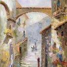 "European style Hand painted oil painting on canvas""Venice""60x90CM(23.6""x35.4"")Unframed-14"