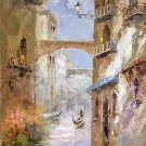 "European style Hand painted oil painting on canvas""Venice""60x90CM(23.6""x35.4"")Unframed-16"